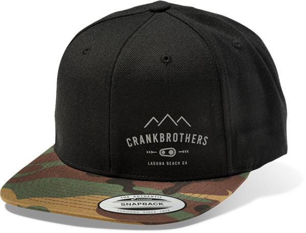 Crank Brothers Range Snap Back Hat - Camo