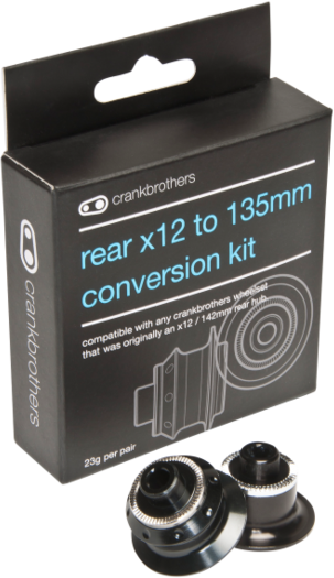 Crank Brothers Rear Endcap Conversion Kit Image differs from actual product