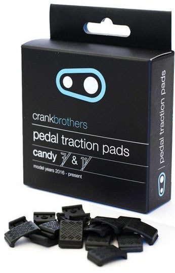 Crank Brothers Traction Pads for Candy 7/11 Color: Black