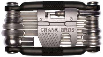 Crank Brothers Multi-19 Tool Color: Gray