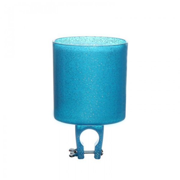 Cruiser Candy Sparkles Bicycle Drink Holder Color: Bluzizzle