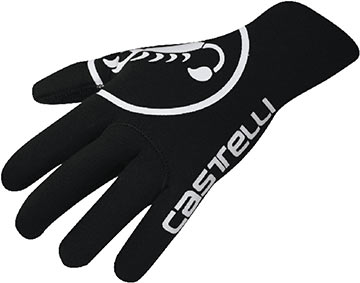 Castelli Diluvio Gloves Color: Black