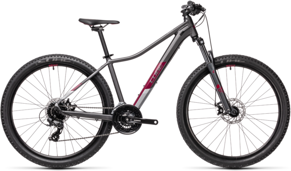 CUBE Bikes Access WS Color: Grey 'n Berry