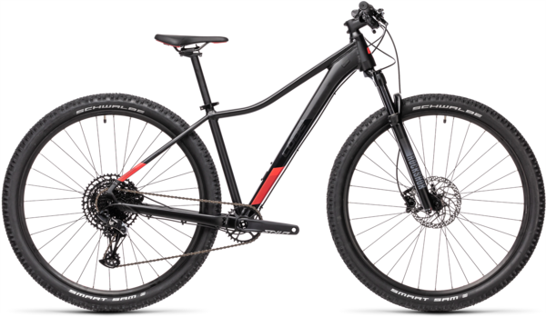 CUBE Bikes Access WS SL Color: Black 'n Coral