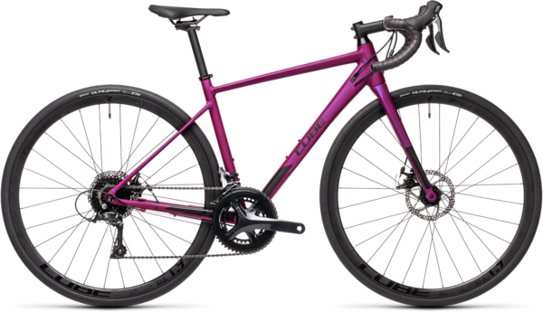 CUBE Bikes Axial WS Pro Color: Purple 'n Black