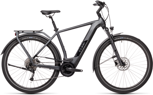 CUBE Bikes Kathmandu Hybrid ONE 500 Color: Iridium 'n Black