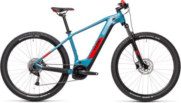 CUBE Bikes Reaction Hybrid Performance 500 Color: Blue 'n Red