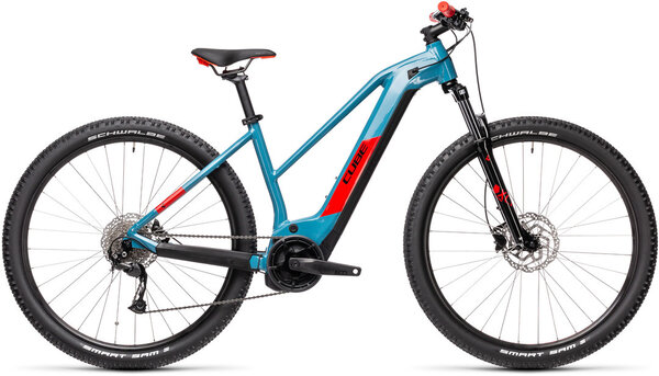 CUBE Bikes Reaction Hybrid Performance 500 Trapeze Color: Blue 'n Red