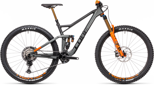 CUBE Bikes Stereo 150 C:68 TM 29 Color: Flashgrey 'n Orange