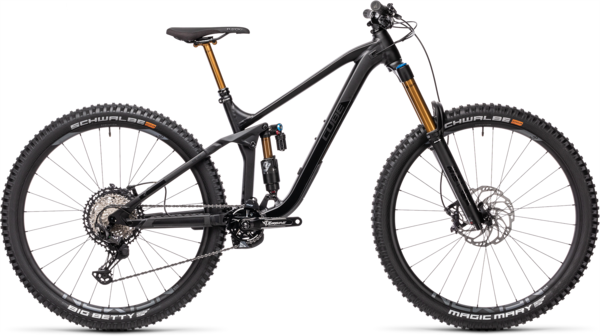 CUBE Bikes Stereo 170 SL 29 Color: Black Anodized