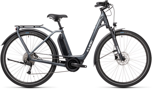 CUBE Bikes Town Sport Hybrid ONE 400 Color: Iridium 'n Grey