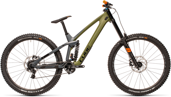 CUBE Bikes TWO15 HPC SL 29 Color: Olive 'n Grey