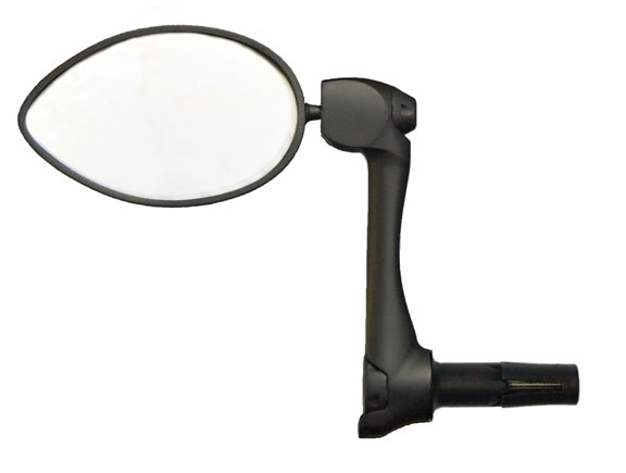 CycleAware Urbie Bar End Mirror Color: Black