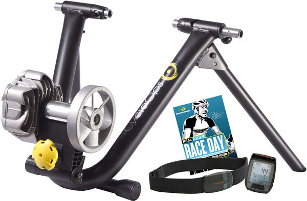 CycleOps Fluid2 Power Trainer Kit Color: Black