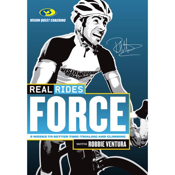 CycleOps RealRides Force Indoor Trainer DVD