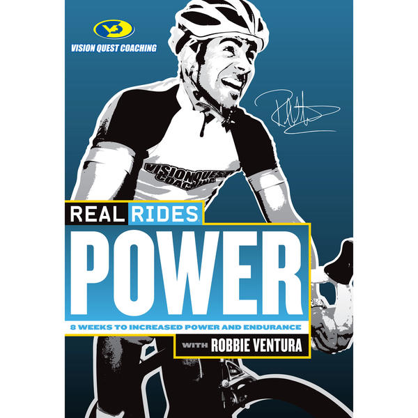 CycleOps RealRides Power Indoor Trainer DVD
