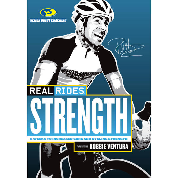 CycleOps Real Rides Strength Indoor Trainer DVD