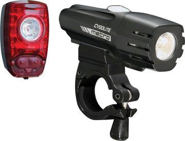 Cygolite Metro 360 / Hotshot 2W Combo Light Set