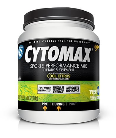 Cytomax Sports Performance Mix Flavor | Size: Cool Citrus | 27-serving