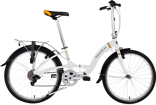 Dahon Briza D8 Color: Frost