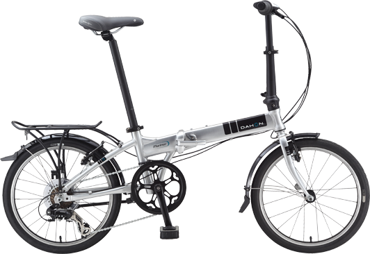Dahon Mariner D8 Color: Brushed Silver