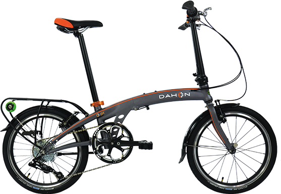 Dahon Qix D8 Color: Smoke
