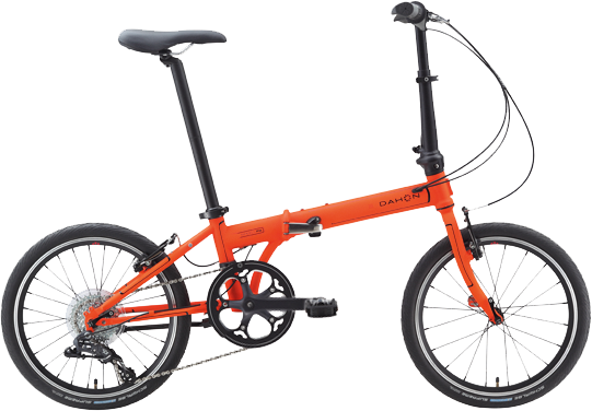 Dahon Speed D8 Sport Color: Tangerine
