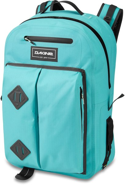 Dakine Cyclone Hydroseal 36L Backpack Color: Nile Blue