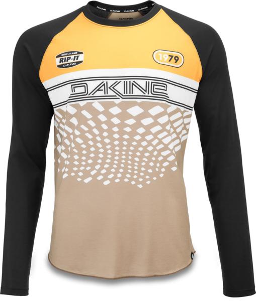 Dakine Dropout LS Bike Jersey - Golden Glow Stingray
