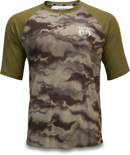 Dakine Dropout Short Sleeve Bike Jersey Color: Ashcroft Camo