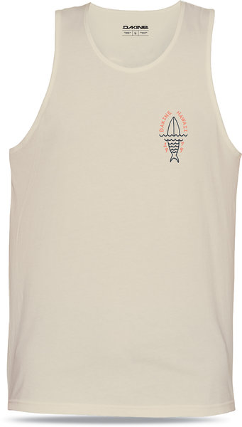 Dakine Fishboard Tank Color: Off White