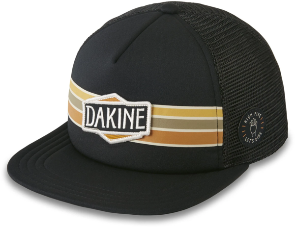 Dakine High Five Trucker Hat Color: Black