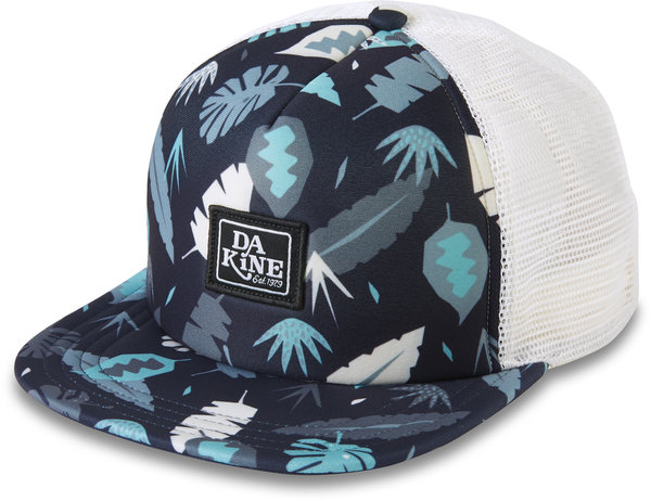 Dakine Hula Trucker Hat Color: Abstract Palm