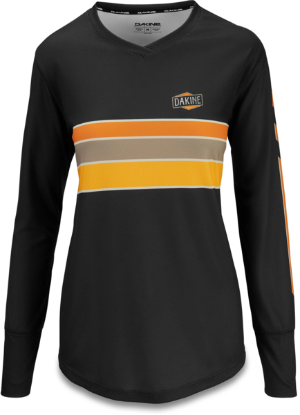Dakine Thrillium Long Sleeve Bike Jersey Color: Team Casey Brown