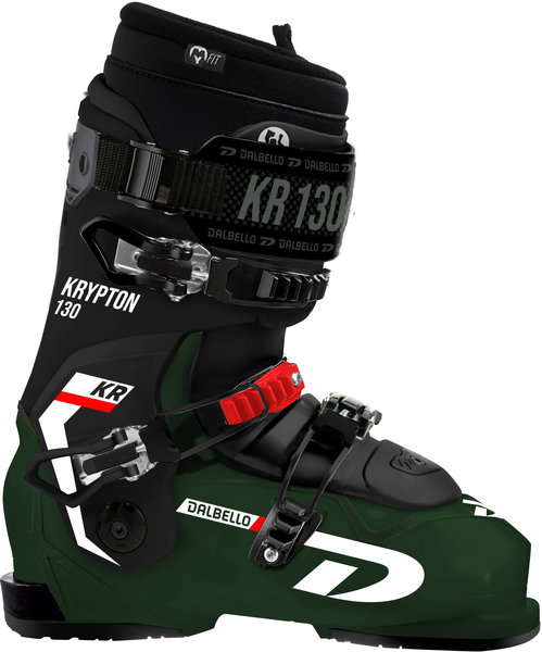 Dalbello Krypton 130 ID Color: Forest Green/Black