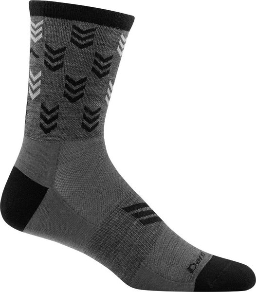 Darn Tough Chase Micro Crew Ultra Light Socks Color: Gray