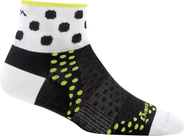 Darn Tough Dot 1/4 Ultra Light Socks Color: Black
