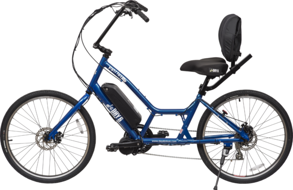Day 6 Bicycles Patriot Electric Color: Royal Blue