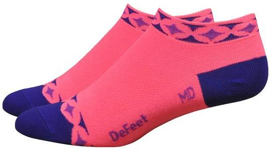 DeFeet Aireator Women's 1-inch Starlight Color: Hi-Vis Pink w/Purple