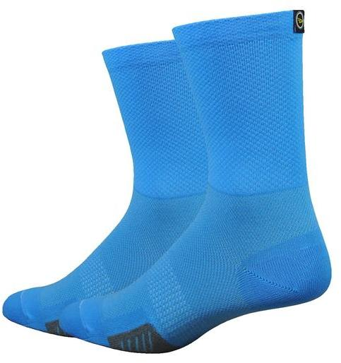 DeFeet Cyclismo 6-inch w/DeFeet Tab Color: Barnstormer Blue