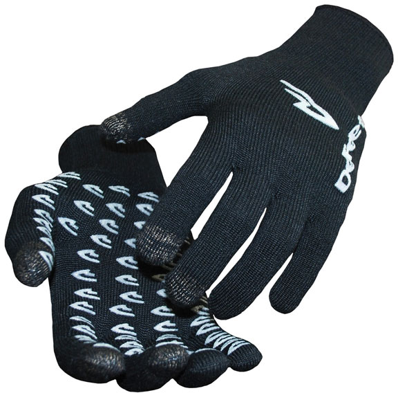 DeFeet E-Touch Duraglove Cycling Gloves Color: Black