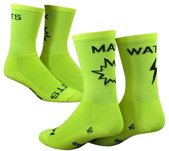 "DeFeet SaKO7 6"" Max Watts Color: Hi-Vis Yellow w/Black"