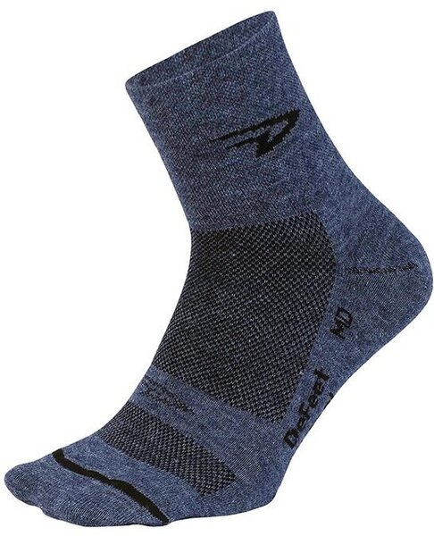 "DeFeet Wooleator 3"" Color: Admiral Blue"