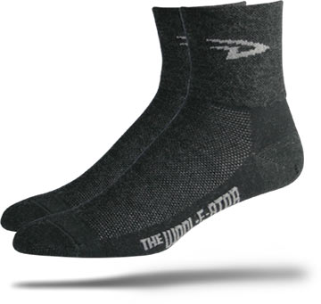 DeFeet Wooleator D-Logo Color: Charcoal