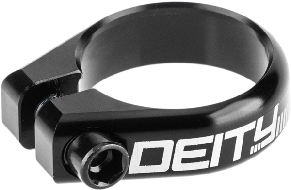 Deity Components Circuit 31.8mm Seatpost Clamp Color: Black