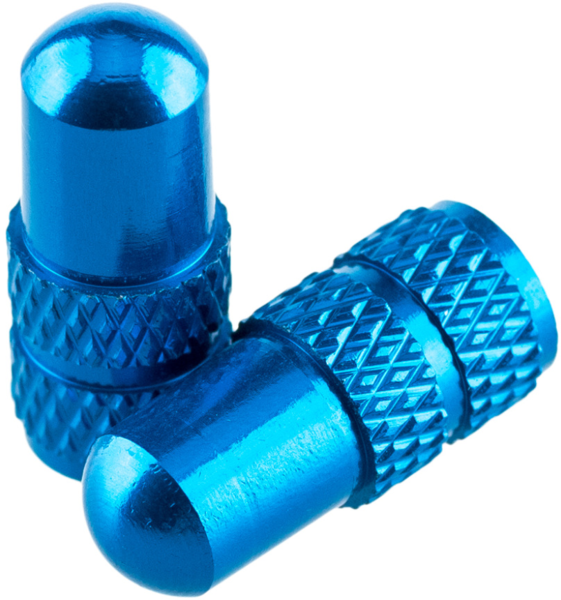 Deity Components Presta Valve Caps Color: Blue