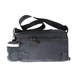 Delta Top Trunk Bag Color: Black