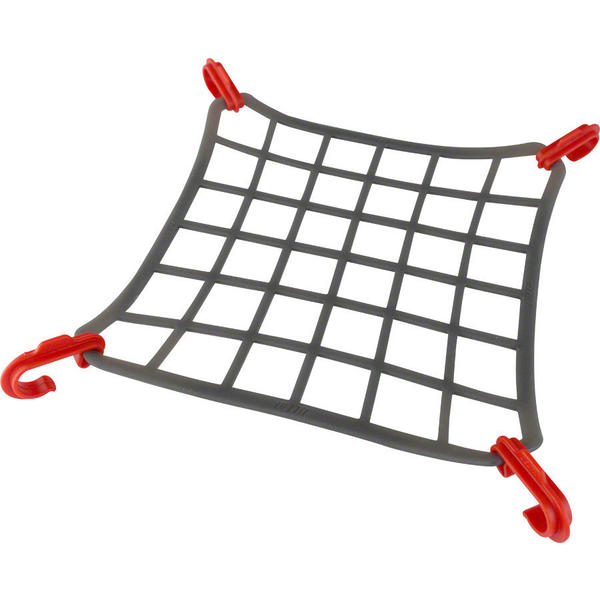 Delta Elasto Net Color: Grey/Red