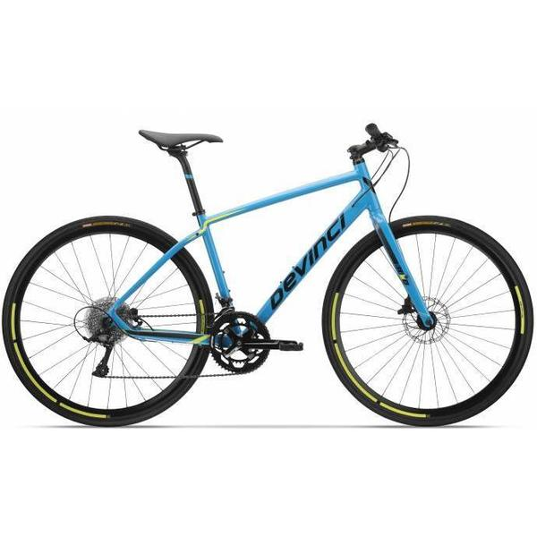 Devinci Hex Sora 9S Color: Blue/Black/Yellow