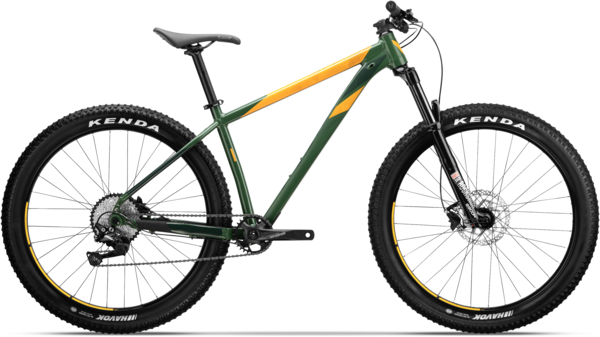 Devinci Kobain HT 27.5+ Deore Color: Khaki/Orange